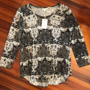 Lucky Brand top, NWT, size L